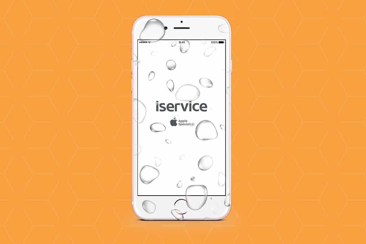 Reparo de iPhone Molhou