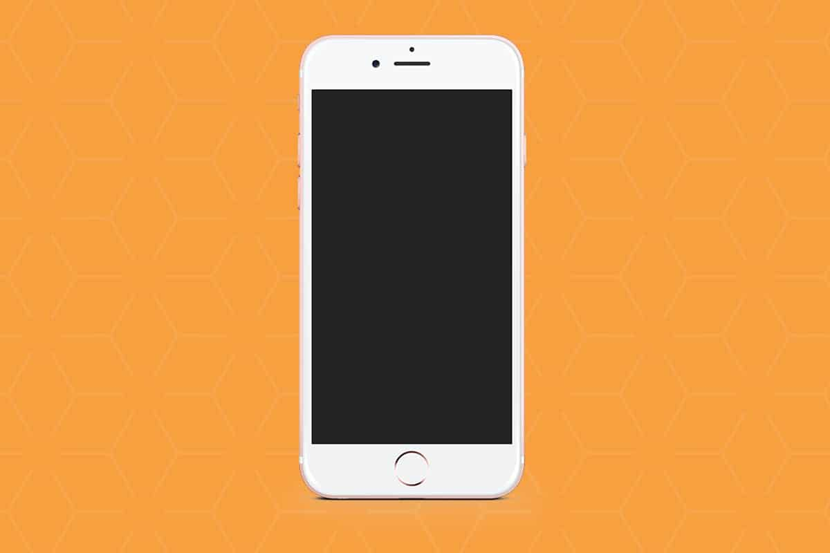 Reparo de iPhone Tela não liga