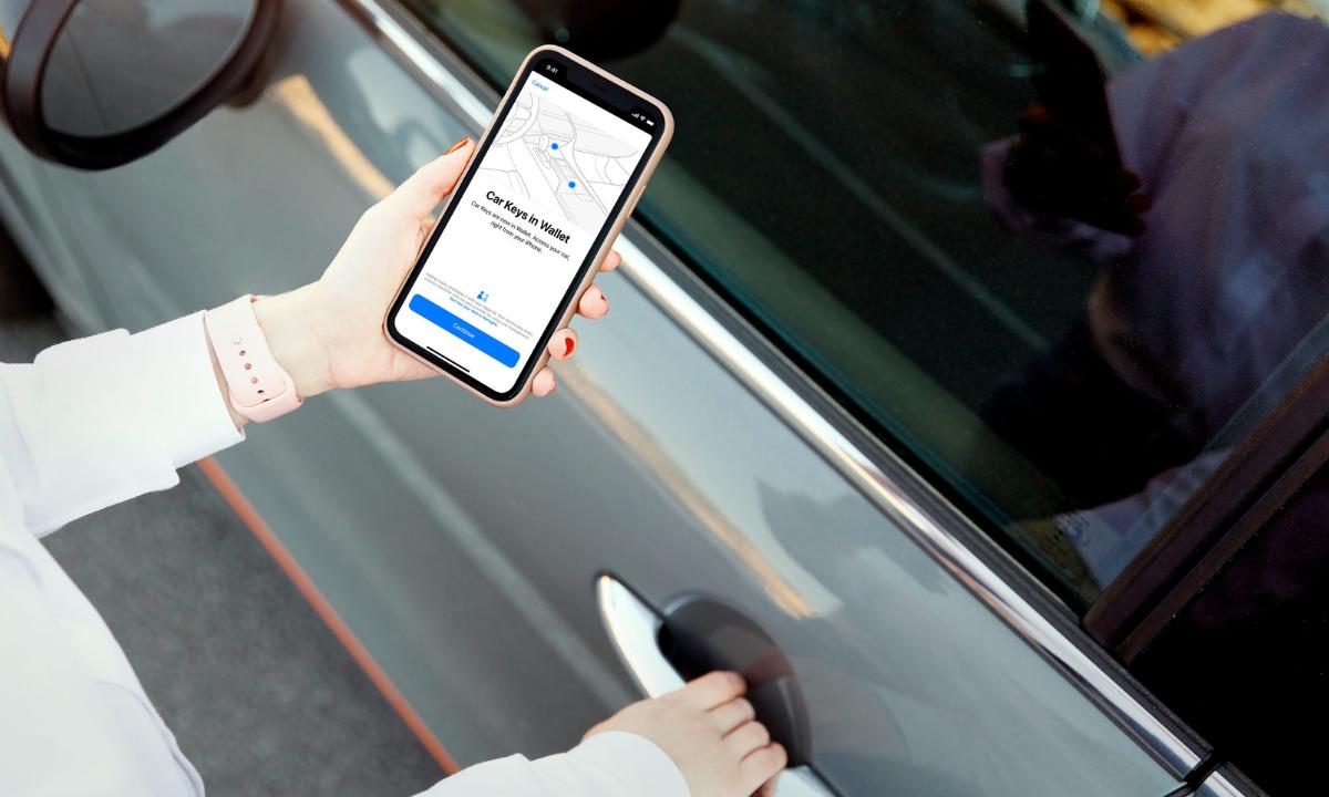 iPhone 12 poderá abrir carro a distância.